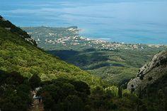 View to Roda, Corfu