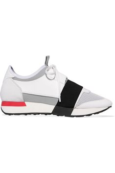 8a6390fc08b Race Runner Balenciaga Sneakers White Rose