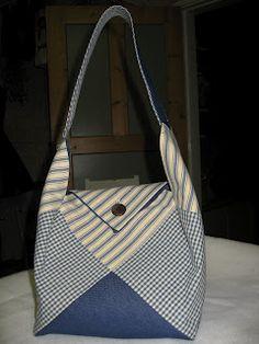 Dethär est un beau sac en patchwork et très facile à faire.