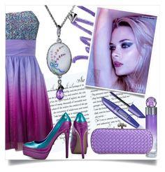 """Lilac evening"" by ledile ❤ liked on Polyvore featuring Christian Dior, Hailey Logan, Perry Ellis, Bottega Veneta, Blink, charms, ledile and charmsbracelets"