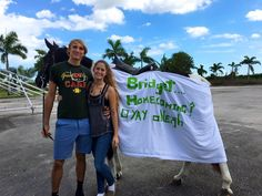 homecoming proposal ask will you go to homecoming clever ideas good original fun food love relationship goals prom proposal promposal hoco horses farm animals cute puppys love