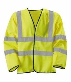 Rodo Small Hi Vis Yellow 2 B B Long Sleeve Waist Coat 8010003 | eBay, $11.65