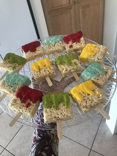 House Warming Rice Crispies Paint brushes