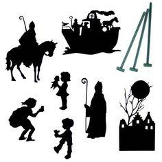 Schaduwspel Sinterklaas -De Oude Speelkamer