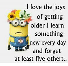 Getting older..