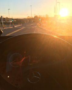 Solen skinner på mitt virke. God morgen