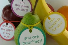 Start the school year off with these free lunchbox notes, tags and stickers. Encourage your kids to eat their fruit with a fun label that reminds them how special you think they are. You need just a few supplies: white card-stock, a 2
