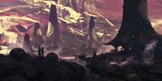 Fantasy landscape, Jan Urschel on ArtStation at https://www.artstation.com/artwork/fantasy-landscape-e27f08a7-88eb-4613-89da-856db2c9e992