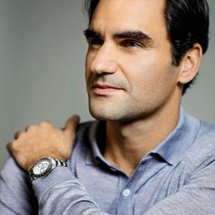 Roger Federer | Photo of Rolex Brand Ambassador Roger Federer Wearing the 2016 Ceramic ...
