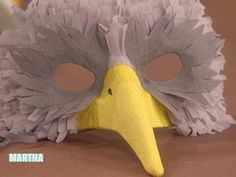 Bird Mask | Step-by-Step | DIY Craft How To's and Instructions| Martha Stewart
