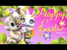 Ich wünsche Frohe und fröhliche OstertageHase freut sich schon und hat alle Eier versteckt  - YouTube