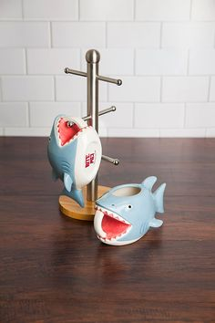 Shark Bite Coffee Mug Holds 24 Ounces Of Morning Chum Coffee is the life blood of working people everywhere, which has attracted the creation of this novelty Shark Bite Coffee Mug. My Coffee, Coffee Cups, Pause Café, Shark Bites, Cool Mugs, Tea Mugs, Mug Cup, Kitchenware, Tableware