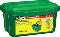 K'NEX Education - Exploring Wind and Water Energy Set K'Nex