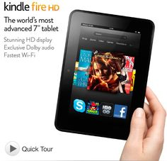 "The new little Kindle Fire HD...7"" version."
