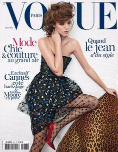 Freja Beha para Vogue Paris, Mayo 2013