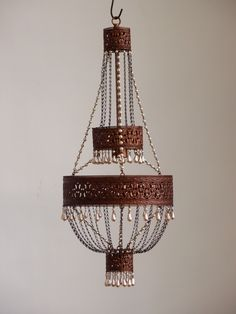 custom adele chandelier with a lana filigree banding canopy designs - Maroon Canopy Design