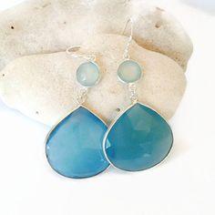 Ombre Stone Earrings #etsy