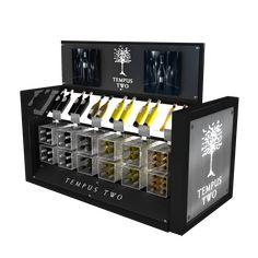 Permanent display concept for Tempus Two / Australian Vintage #wine #merchandising #display