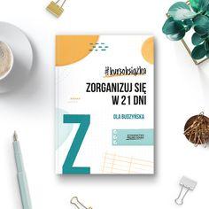 """""""Zorganizuj się w 21 dni"""" to kompendium wiedzy w temacie organizacji czasu i praktyczne wskazówki, jak wprowadzić ją do swojego życia. 21 dni to właściwie 21 zagadnień, które krok po kroku poprowadzą Cię w kierunku ogarnięcia wszystkich tych obszarów, na których Ci zależy. Motywacja, perfekcjonizm, prokrastynacja, cele, narzędzia, rutyna i nawyki – to wszystko wpływa na to, jak działasz, jak planujesz i jak się organizujesz. Products, Gadget"""