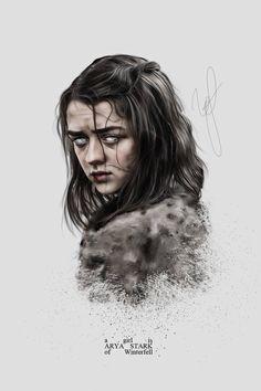 Arya Stark Tattoo Game Of Thrones Dessin Game Of Thrones, Arte Game Of Thrones, Game Of Thrones Poster, Game Of Thrones Arya, Arya Stark Blind, Arya Stark Art, Arya Stark Season 1, Arya Stark Aesthetic, Game Of Thrones Wallpaper