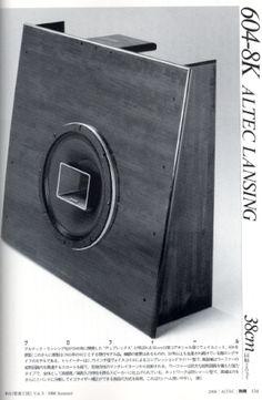 Altec Open Baffle speaker - Japan