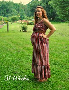 miskabelle vintage: maternity style 31 weeks #pregnancy #style