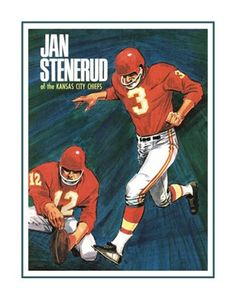 Vintage Jan Stenerud, Chiefs Kicker Poster. Great gift for any Chiefs fan. This ready-to-frame poster is printed to order on heavyweight satin photo paper. Buy with confidence. I stand behind everything I sell. If you are not satisfied please contact me, so I can resolve your unmet expectations. Nfl Hall Of Fame, Football Hall Of Fame, Football Art, Sale Poster, Sports Art, Kansas City Chiefs, Baseball Cards, Wall Art, Nfl Pro
