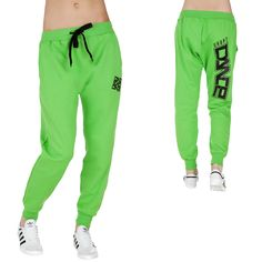Urban Classics Dance 3/4 Sweat Pants Limegreen/Black
