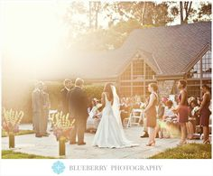 Sun drenched wedding ceremony at the Brazilian Room in Tilden Park.