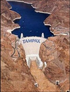 Tampax creative Ad