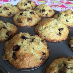 Best Homemade Chocolate Chip Muffins Recipe – Bakery Style! | Melanie Cooks