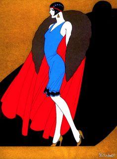 La Dama del Abrigo cabral 1927