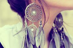 Dreamcatcher earrings fashion girl dream earrings catcher