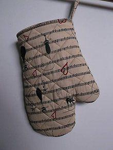 Úžitkový textil - rukavica - 6713207_