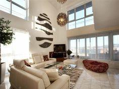 Wanddekoration wohnzimmer ~ Luxus wohnzimmer im einklang der mode wohnzimmer kamin sofa