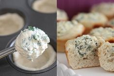Bake Individual Spinach-Dip Bread Bowls: Press pre-made bread dough into the bottoms of the muffin cups, and fill it with dip before baking for a perfect party appetizer.