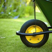 When spring rolls around, lawn enthusiasts rush to apply seed, fertilizer and weed killer, anxiously waiting for their grass to turn a lush green. Common epsom salts provide an easy, inexpensive method to green the lawn. Usually used to soak achy feet, epsom salt is not really a salt, but a mix of magnesium and sulphur. Both ingredients benefit a...