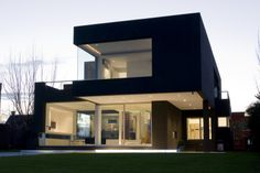 The Black House - Explore, Collect and Source architecture