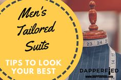 Men's tailored suits are all the rage these days. Here are a few tips to achieve a tailored look with your suits. Mens Tailored Suits, Best Mens Fashion, Fashion Advice, Rage, Men's Style, That Look, Tips, Male Style, Manish Style