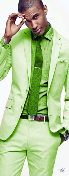 Green - online shop: http://shop.zeusfactor.com for a wide collections of men's fashion, grooming products and accessories.