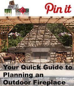 Planning an Outdoor Fireplace | home improvement