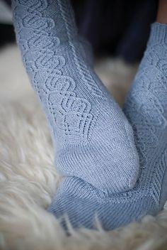Ravelry: Twisted Stitch Salzburg Socks pattern by Cailyn Meyer