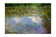 Water Lilies, the Cloud, 1903 Giclée-Druck von Claude Monet bei AllPosters.de