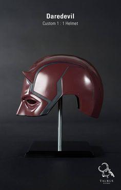 Custom Wearable 1:1 Daredevil Helmet