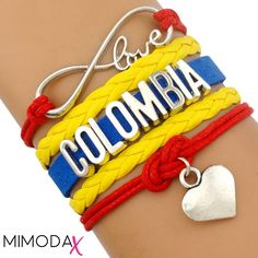 Colombia Infinity Love Bracelet - LIMITED EDITION
