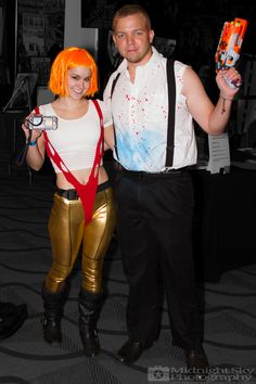 #Leeloo and #KorbenDallas from #TheFifthElement #FifthElement #Cosplay from #SteelCityCon #ComicCon ----- Check out more of my photography @ http://www.facebook.com/MidnightSkyPhotography (Link in Profile) ----- #MidnightSkyPhotography #MidSkyPhoto