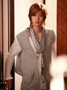 Kim Hyun Joong 김현중 ♡ as Yoon Ji Hoo ♡ Boys Over Flowers ♡ Kdrama ♡ Kpop ♡ long hair ♡