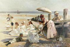 Victorian British Painting: Alexander Mark Rossi