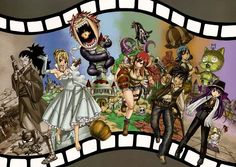 Tags: Anime, FAIRY TAIL, Natsu Dragneel, Gray Fullbuster, Lucy Heartfilia, Erza Scarlet, Juvia Loxar