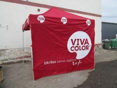 Pop up telk, logo on kuumpresstrükiga Viva color - Reklaamitootja.ee - http://reklaamitootja.ee/102-img-0677-jpg/